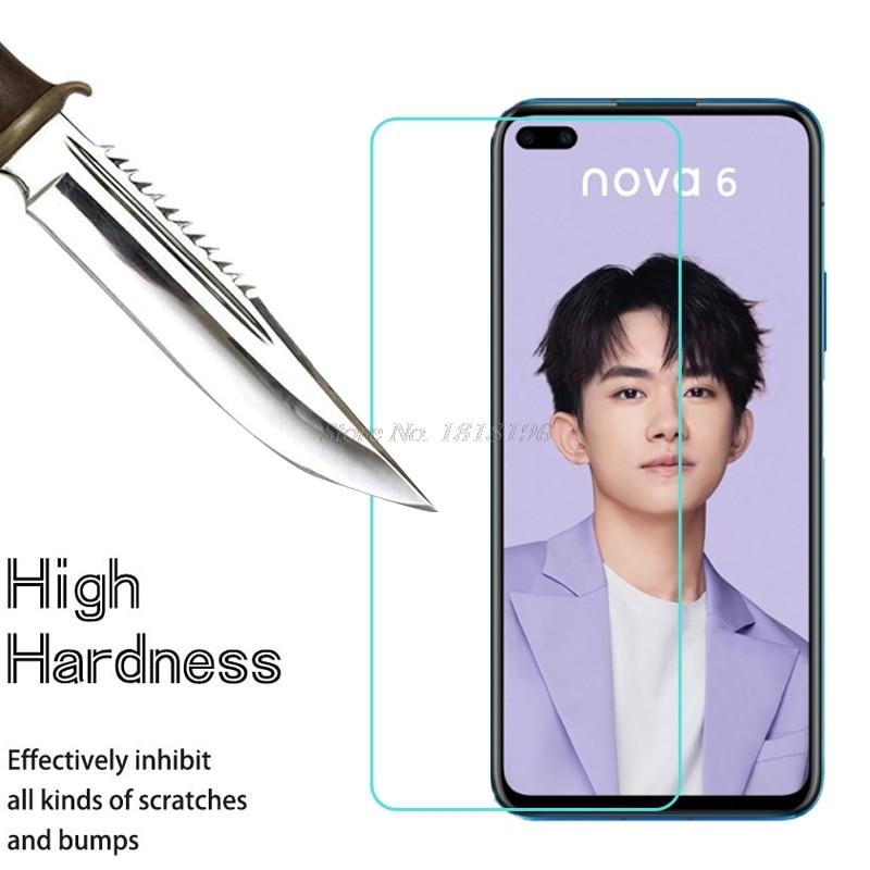 Huawei Nova 6 5G ապակե պաշտպան Huawei Nova 6 խիտ - Բջջային հեռախոսի պարագաներ և պահեստամասեր - Լուսանկար 1