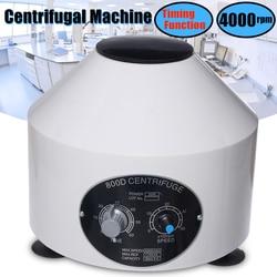 Mini 4000RPM Labor Elektrische Zentrifuge Medizinische Praxis Maschine Niedrigeren-geschwindigkeit Desktop Zentrifuge Mit Timer