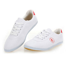 Chinese Kungfu Sneakers Tai Chi Wushu Shoes Martial arts Man Woman Casual Breathable Canvas Sports Running Fishing Shoes(China)