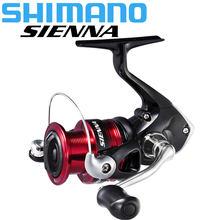 SHIMANO SIENNA Spinning Fishing Reel Seawater/Freshwater 1000FG/2500FG/4000FG Aluminum Spool spinning reel max drag 4kg/8.5kg