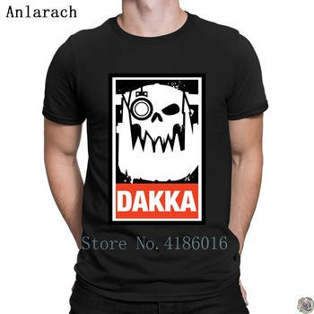 Dakka Waaagh Orks 40k t-shirt great Knitted Pop Top Tee S-5XL tshirt for men round Neck Big Size 2019 tee shirt Funny Casual image