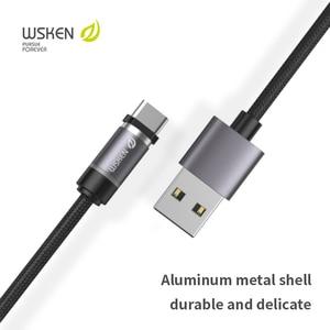 Image 2 - Wsken كابل USB مغناطيسي شحن USB C نوع C كابل آيفون المغناطيس شاحن تهمة مايكرو كابل لسامسونج الهاتف المحمول الحبل