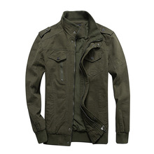 New Mens Jackets Military MA 1 Style Army Jackets Male Brand Clothes Mens Bomber Jeans Jackets Plus Size M 6XL Streetwear Cotton