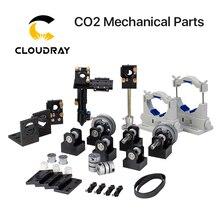 Cloudray e série co2 peças mecânicas a laser, componentes de metal para diy co2 máquina de corte gravura a laser