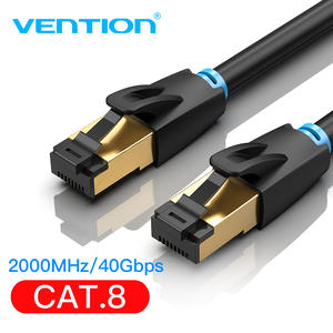 Vention Cat8 Ethernet Cable RJ45 SFTP Patch Cable for Computer Networking Laptop Router Modem 0.5m/1m/1.5m/2m/3m Lan Cords Cable