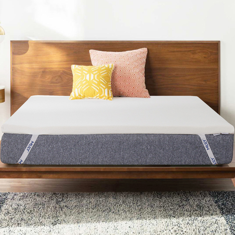 Mlily Memory Foam Mattress Toppper Slow Rebound For Bed King Queen Full Twin Size Bedroom Furniture