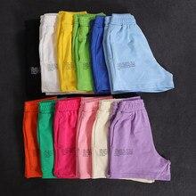 Pantalones cortos informales de algodón para mujer, pantalón corto elástico de cintura alta con bolsillos, ropa deportiva para correr
