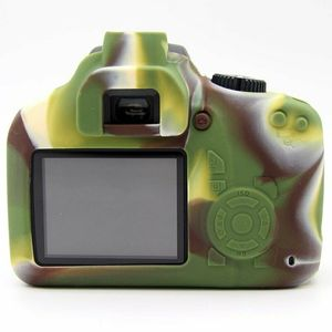 Image 3 - Silicone Armor Skin Case Body Cover Protector for Canon EOS 4000D 3000D Rebel T100 DSLR Camera ONLY