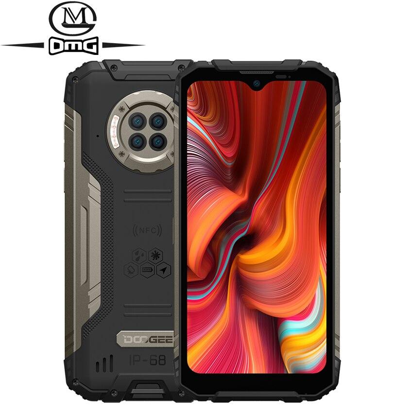 DOOGEE S96 Pro NFC IP68 Прозрачный чехол для телефона с противоударной 8 ГБ + 128 ГБ об/мин 20MP инфракрасный Ночное видение Octa Core Android 10,0 надежные смартфон...