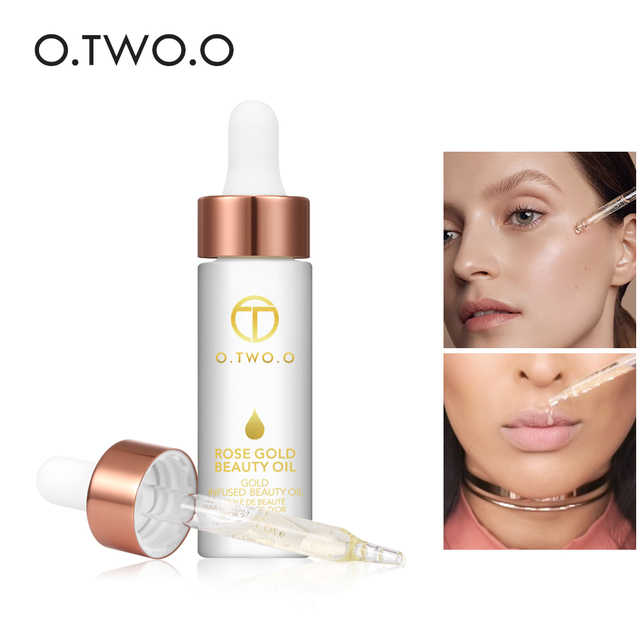 O.TWO.O Face Primer Makeup Base Beauty Oil Makeup Essential Oil Before Foundation Winter Moisturizing Smooth Foundation Base 1