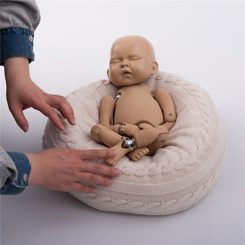 Newborn Baby Photography Prop Studio Poser Accessories Posing Bean Bag Pillow  NEW