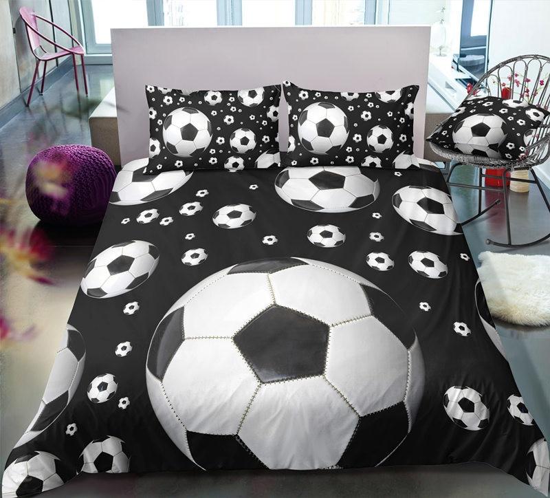Classical European Bedding Set With Sheet Pillow Duvet Cover Set 2/3pcs Gift For Boys Adult Basketball Of Comforter Cover Set