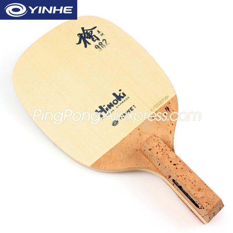 YINHE 982 HINOKI (1 Ply SOLID Hinoki) YINHE Table Tennis Blade / Racket Cypress Japanese Penhold JS Ping Pong Bat / Paddle