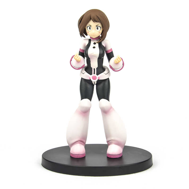 Japan Original Genuine Anime My Hero Academia 18cm Kawaii Ochaco Uraraka Box Action Figures Toys Collection Gift