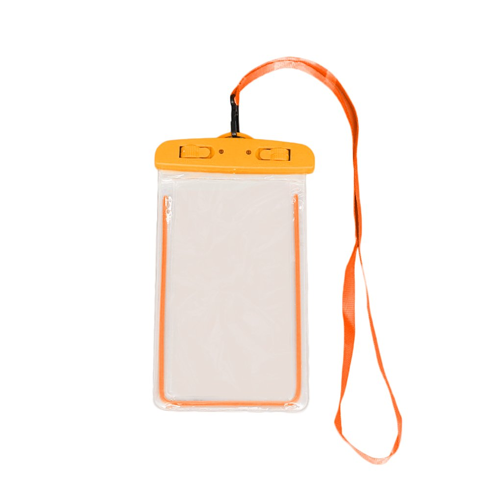 Swimming Bags Waterproof Bag With Luminous Underwater Pouch Phone Case For Iphone 6 6s 7 8 Universal Band Drop Shipping