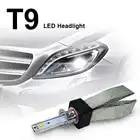 SUNYDEAL LED Headlight Bulb T9 IP68 Waterproof Kit H4 H7 H1 H8 H9 H11 9005 6000K Car Headlight Bulb Auto Lamp Fog Light Bulbs