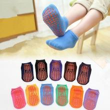 Floor-Sock Non-Slip Toddler Girl Winter Cotton Children for Kid Thick Velvet Candy-Color