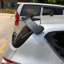 For Suzuki Swift Nissan Tiida High Quality Carbon fiber Material Car Rear Spoiler For Suzuki Swift Spoiler 2008-2015 цена