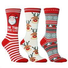 Модные рождественские носки, подарок Санта-Клаусу, Детские Рождественские смешные носки унисекс для леди, женские чулки с Санта-Клаусом 2020