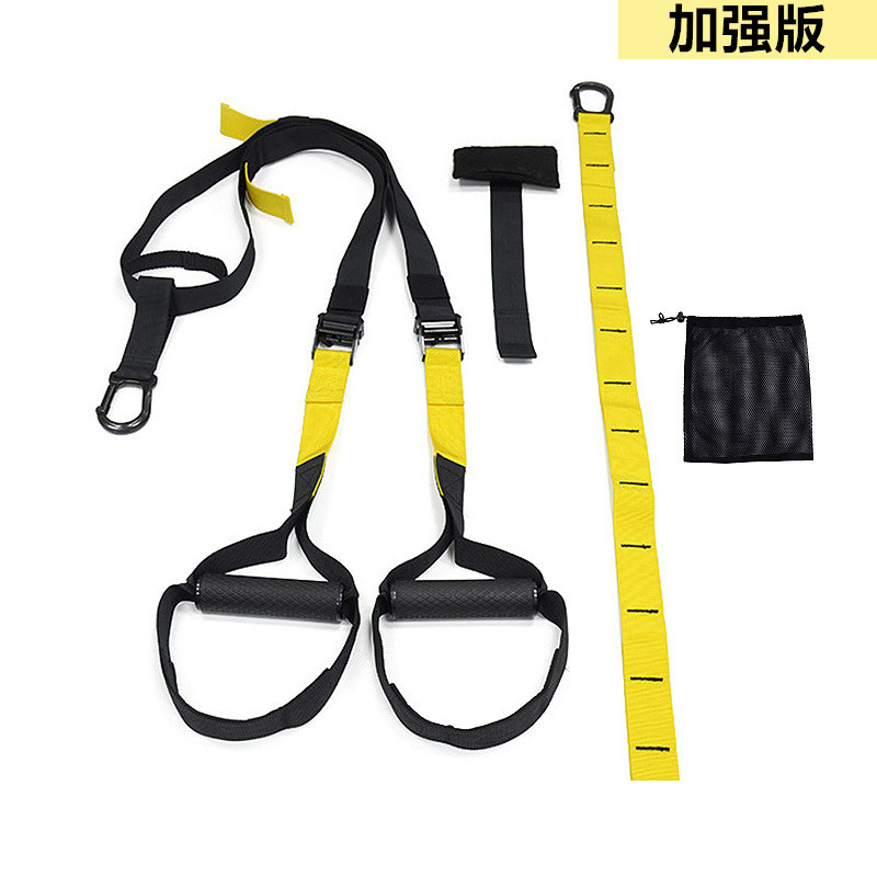 Fitness Equipment Resistance Bands Hanging Belt Sport Gym Workout Fitness Suspension Exercise Pull Rope Straps Trainer Belt
