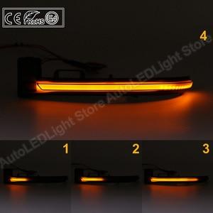 Image 5 - 2X دخان LED ديناميكية مرآة الوامض ضوء بدوره مصباح إشارة ضوء العنبر لبيجو 308 2013 2019
