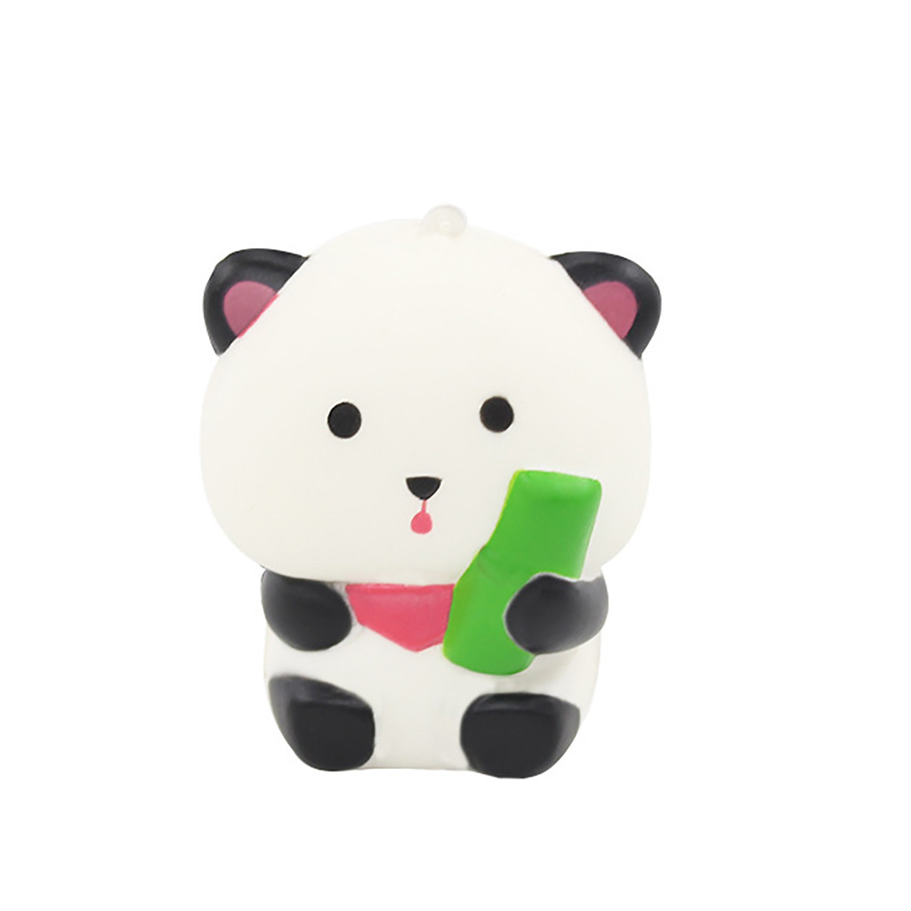 Squishy Cartoon Panda Scented Slow Rising Toy Children Kids Gift Stress Relief Cute Pada Soft Squishy Slow Rising Squeeze W826