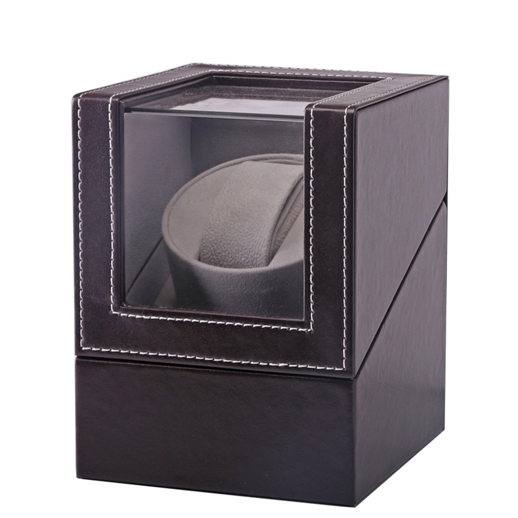 High Class Motor Shaker Watch Winder Holder Display Automatic Mechanical Watch Winding Box Jewelry Watches Box New