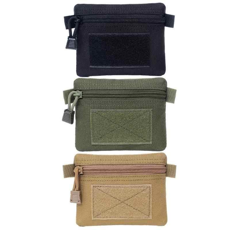 Außen EDC Molle tasche Brieftasche Wasserdichte Tragbare Reise Zipper Taille Tasche für Camping Wandern