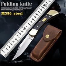 M390 Сталь ручка из углеродного волокна ножи кемпинг практичный