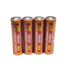 TrustFire IMR 18650 50A 3.7V 2600mah 9.62Wh Li-ion