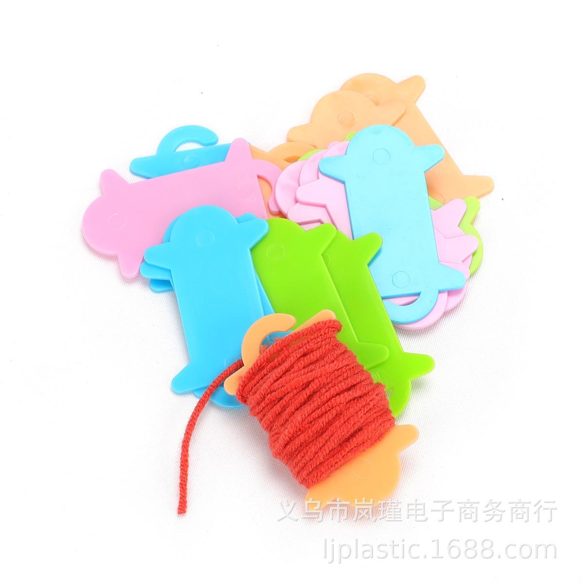 Lan Jin Amazon хит продаж 10 упаковок утолщенной цветной проволочной панели инструмент для плетения аксессуары производители AC038