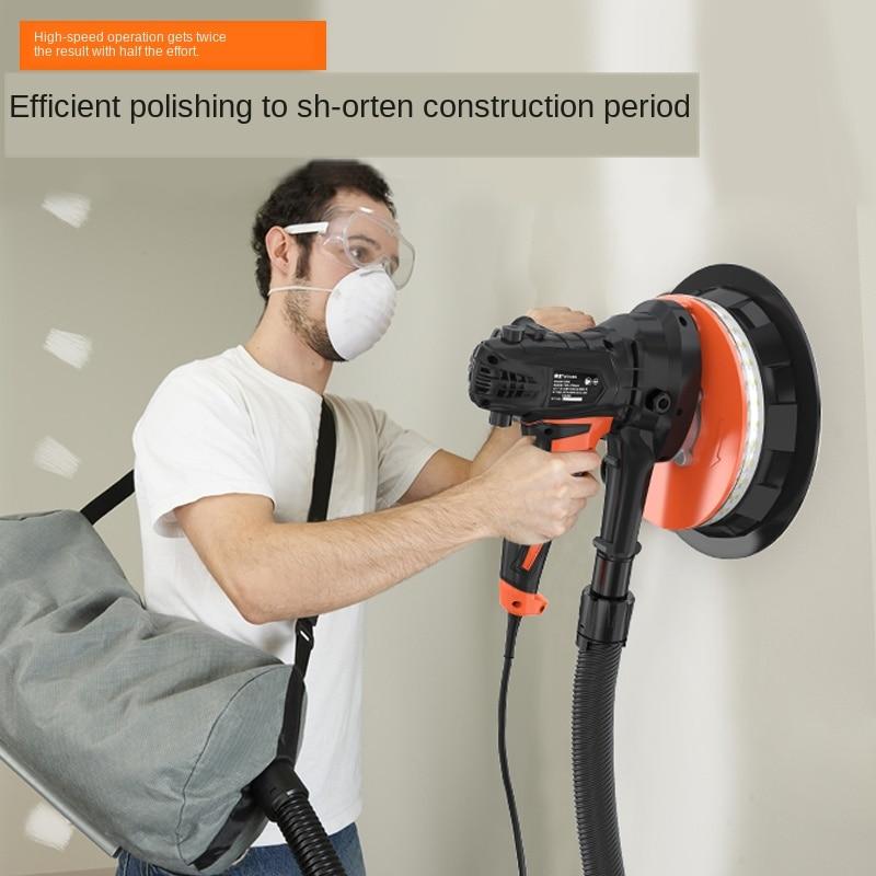Multi-function Putty Wall Polishing Machine Dust-free Self-priming Wall Grinding Machine Electric Sandpaper Machine Universal