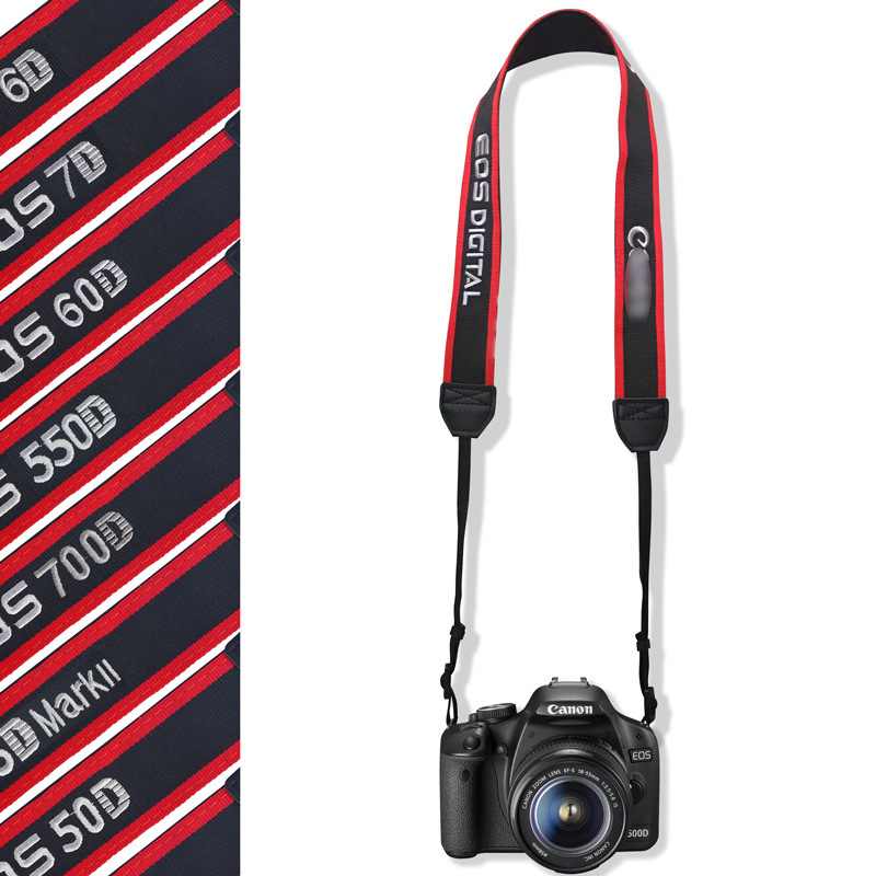 Strap For Canon EOS 450D 500D 50D SLR Camera w// Soft Padded Neck//Shoulder Grip
