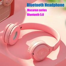 Macaron Headset Bluetooth Headset, Mini Version Gaming 5.0 Music