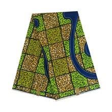Veritable real dutch block african wax woman 100% cotton 6yards/piece prints in fabric ankara africa dress cloth V-L 659