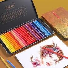 Marco 48/72 cores lápis de cor oleosa conjunto de pintura lapis de cor não-tóxico chumbo-livre lápis de cor oleosa escrita material escolar