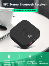 Bluetooth Transmitter Receiver Wireless Audio Adapter For Headphones Speakers TV 3.5mm Bluetooth 5.0 Music Receiver Sender(China)