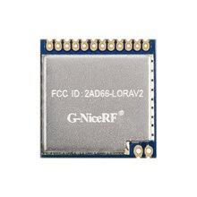 Módulo LoRa inalámbrico de RF de largo alcance, módulo LoRa1276 con certificado FCC de 868MHz, 915MHz, 100mW, sx1276, 2 unids/lote