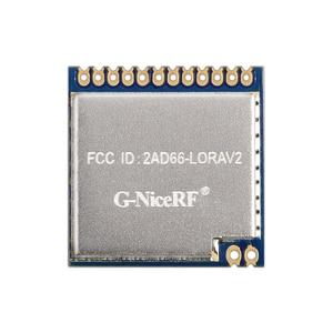 Image 1 - Módulo LoRa inalámbrico de RF de largo alcance, módulo LoRa1276 con certificado FCC de 868MHz, 915MHz, 100mW, sx1276, 2 unids/lote