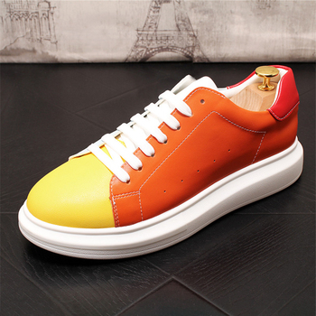 Fashion Dad Sneakers Man Casual Shoes Tide Jogging Shoes Non-slip Walking Shoes Mixed Color Zapatos Hombre 4#15/15D50