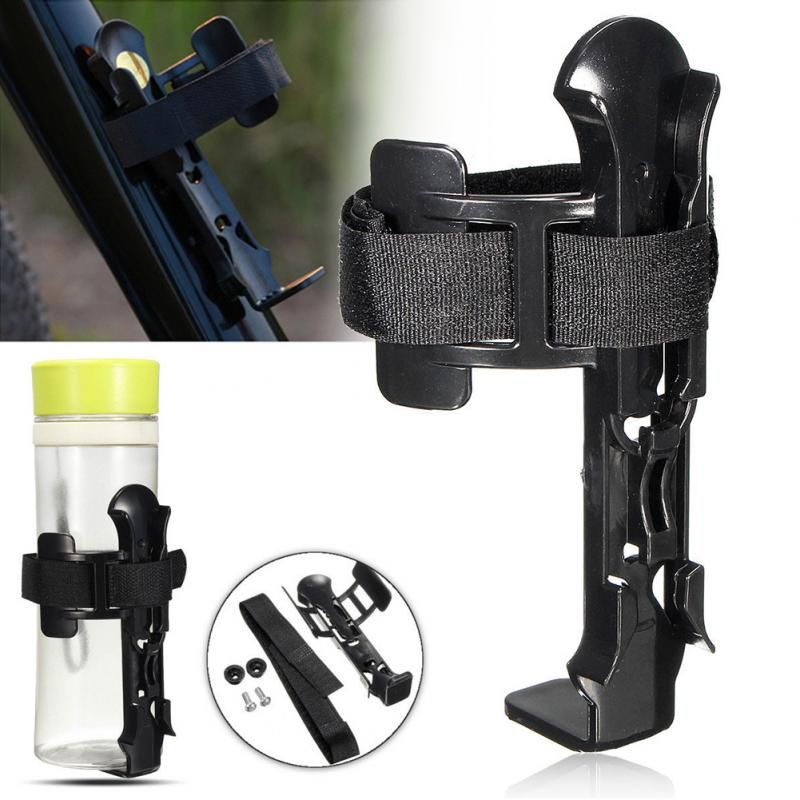 Adjustable Bicycle Water Bottle <font><b>Holder</b></font> plastic Mountain <font><b>Bike</b></font> Bottle Can Cage Bracket Cycling <font><b>Drink</b></font> Water Cup Rack Accessories image