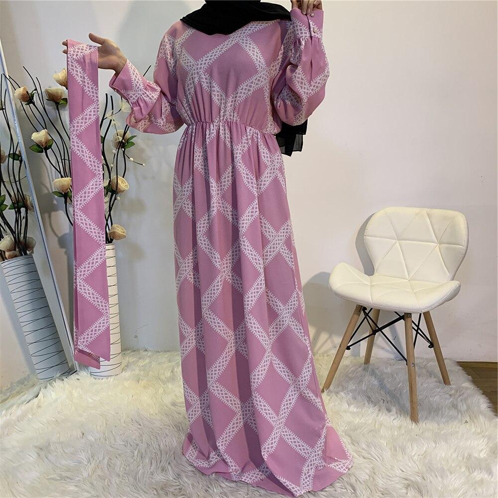 Vestidos Kaftan Dubai Abaya Turkey Muslim Fashion Hijab Dress Islam Clothing Abayas Maxi Dresses For Women