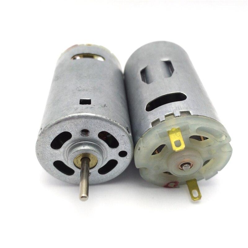 395 Mini Motor 12 Volt V High Speed Electric DC 6V 12V 24V 15000rpm Milcro Motors DIY Drill Car Model hair dryers RS395 moter