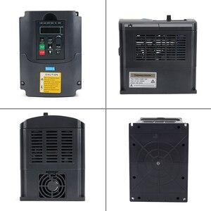 Image 3 - 2.2KW 220V VFD Inverter 3KW 4KW 5.5KW 7.5KW Frequency Inverter Converter 1P input 3P Output 220V For CNC Spindle motor