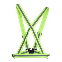 Vest Highlight Reflective-Straps Cycling Safety Security Night-Work Running
