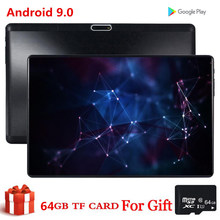 S119 livre presente 64 gb cartão 10 Polegada tablet mid pc global bluetooth 3g wifi phablet android 9.0 mtk núcleo 2.5d tablet banda do ce 32 gb