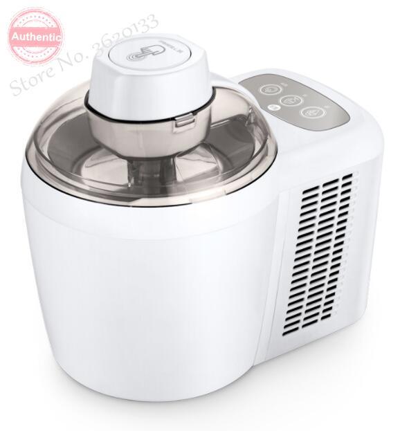 Бытовая полностью автоматическая машина для Фруктового мороженого, домашняя машина для приготовления мороженого, йогурт, десерт, не требует предварительного охлаждения, 220 В, 0.6л Мороженицы      АлиЭкспресс