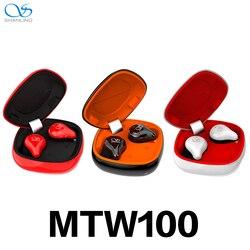 Najnowszy Shanling MTW100 5.0 Bluetooth bezprzewodowe douszne słuchawki douszne słuchawki sportowe Auriculares zatyczki do uszu sterownik pomocy i współpracy administracyjnej/SBC IPX7 wodoodporna w Słuchawki douszne i nauszne Bluetooth od Elektronika użytkowa na