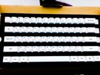 Dyesub de impressão dye sub teclas de teclado mecânico PBT keycaps Russa impressão símbolo