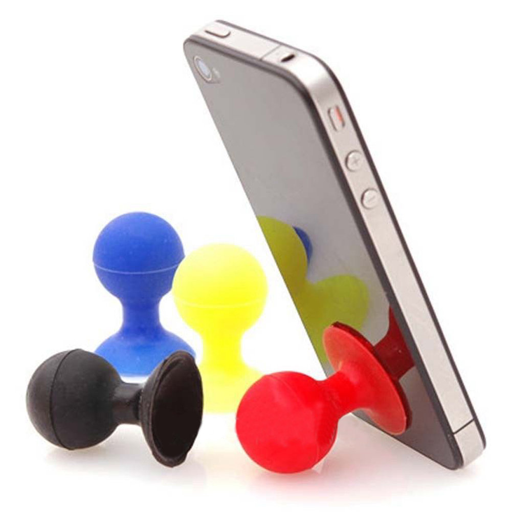 5Pcs Mini Silicone Suction Cup Holder Sucker Stand For Cell Mobile Phone Hot